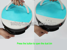 One corner brush to clean the dust, robotic vacuum cleaner