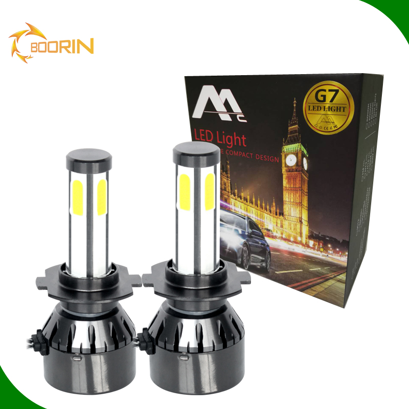 New S2 C6 X3 8000lm <strong>led</strong> headlight car h1 h3 h4 h7 h11 9005 9006 super white replacement <strong>auto</strong> repair parts light bulb 6000K