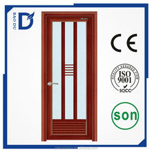 standard size fire rated aluminium bathroom half of glass doors