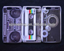 Mobile phone plastic tape case cover for Motorola razr XT910
