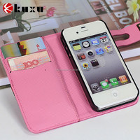 Luxury Leather Back Case+Aluminum Metal Protective Bumper Cover for iPhone 5/5S/6/6 Plus