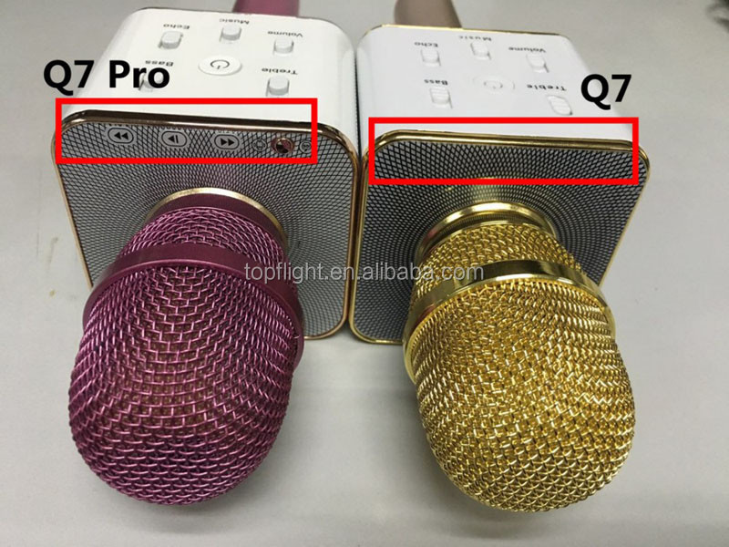 Q7Pro Professional Karaoke KTV Bluetooth Speaker With Microphone