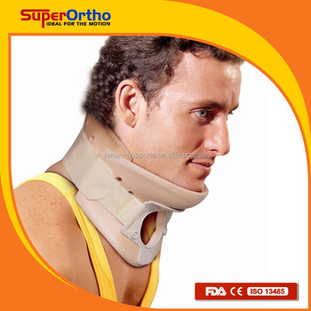Cervical Collar-- O1-001 Tracheostomy Hole Cervical Collar