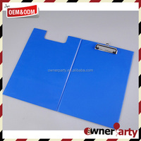 unique color 2-hole file folder with metal clamp A4 size