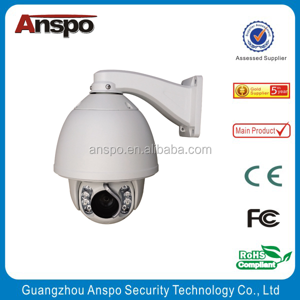 A factory direct selling indoor and outdoor 700 TVL waterproof High-speed dome IR camera