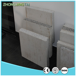 2016 Light weight EPS/XPS fiber cement sandwich panel for wall with CE