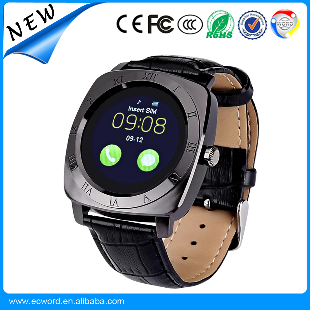 Bluetooth Android Smart Watch X3 Smartwatch Pedometer Fitness Clock Camera SIM Card smart watch phone