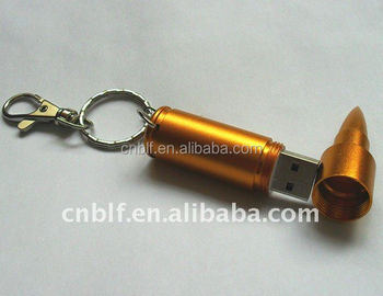 OEM custom usb flash drive bullet 8GB for wholesale custom