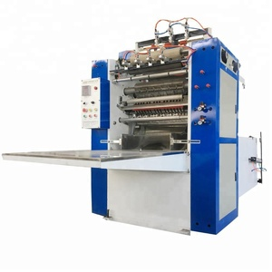 Z folding Automatic Box Facial Tissue Paper Making Machine Price
