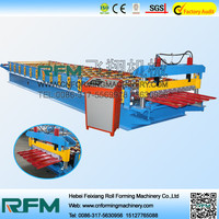 [Feixiang.Feitian] colorful steel plate roll forming machine