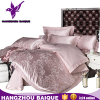 Chinese Duvet Cover Sets King Size Luxury Embroidery Design Bed Sheet