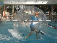 China transparent water bouncing ball