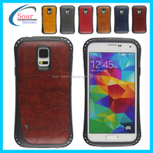 2014 new arrival Veneer gluing back cover phone case for Samsung galaxy s5 i9600