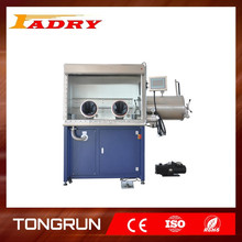 Vacuum Glove Box equipment with H2O & O2 Sensor, Purification system, 2 Antechambes for lithium battery Single working position