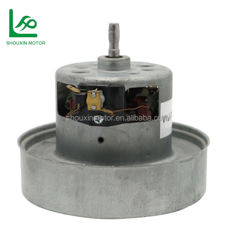 Single Phase Vacuum Cleaner Parts Brushed Electrical Fan Motor