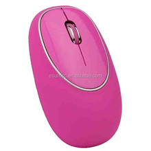 Wholesale Gift Soft Pink Funny USB Wired Optical Computer Mouse, M-008