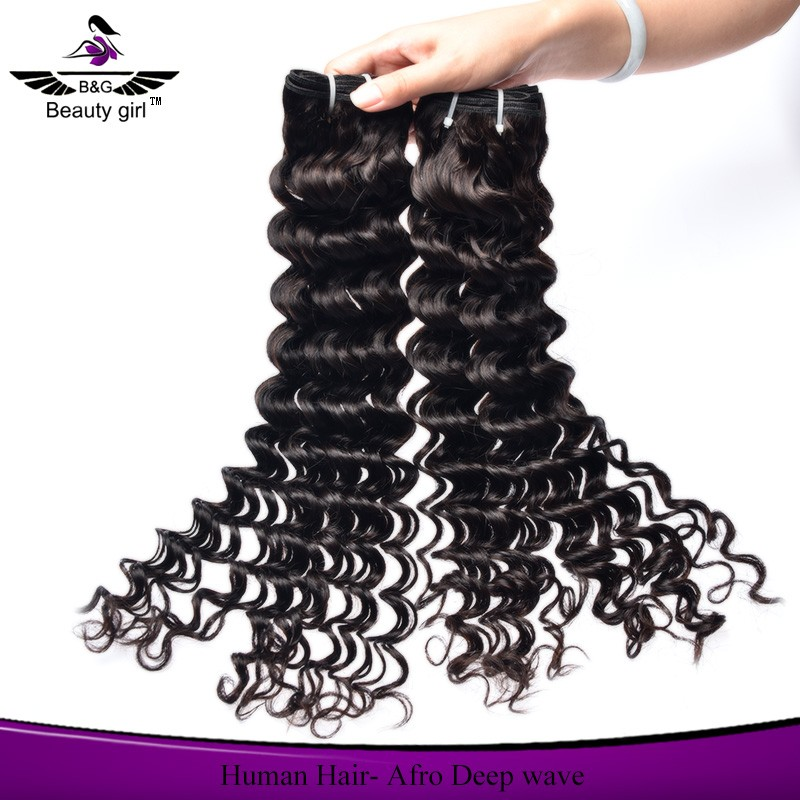 Beautygirl supplier no shedding no tangle jazz hair weaving afro wave