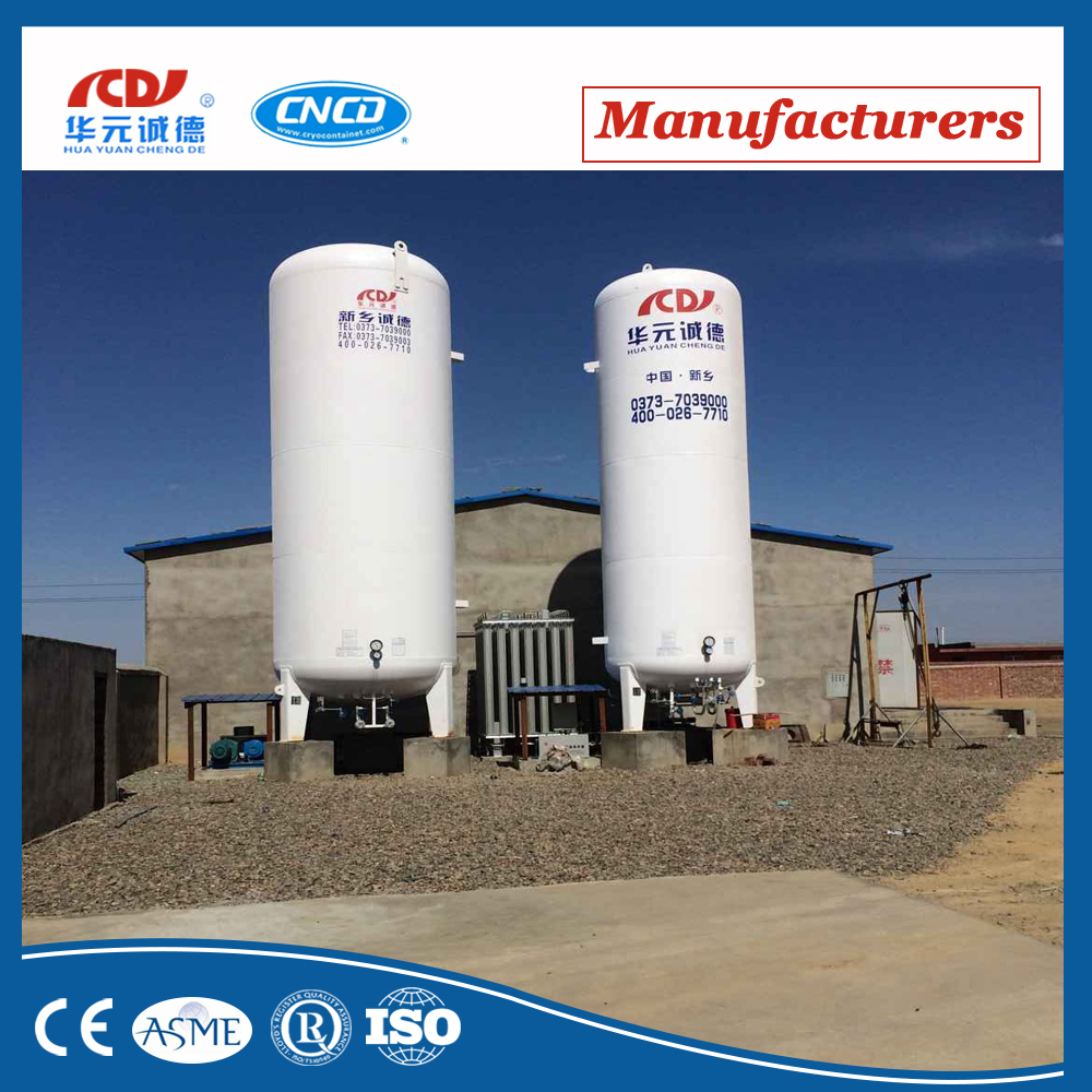 liquid chlorine containers, ISO cryogenic storage tank container