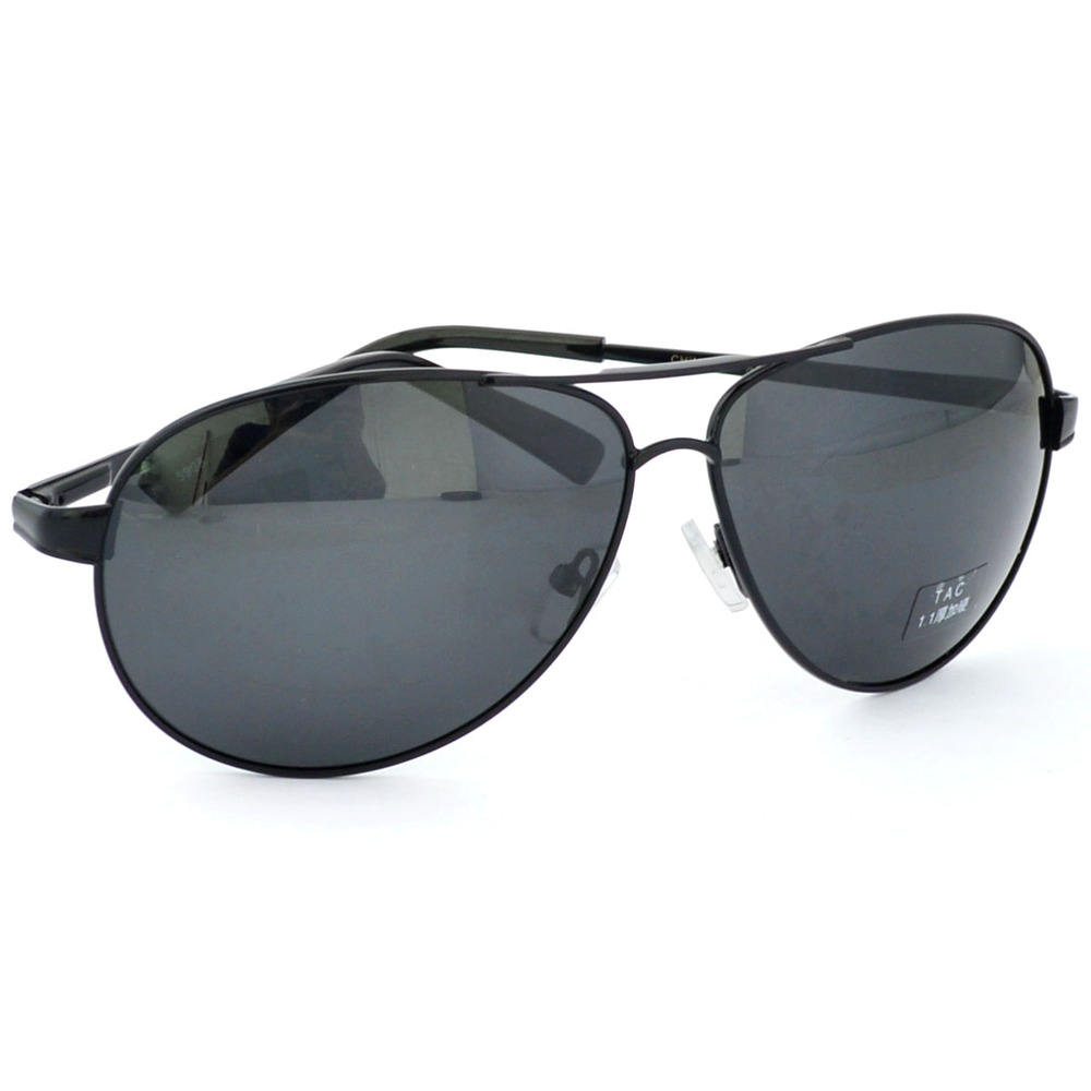 Newest Anti UV Metal frame Polarized Pilot Sunglasses