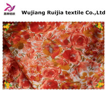 100% polyester digital printed chiffon fabric for dresses