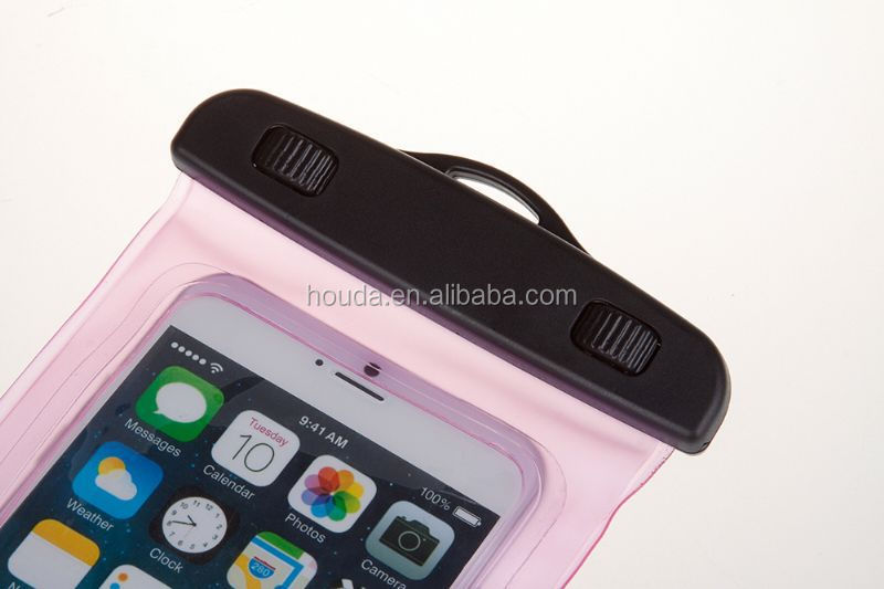 High quality Cell Phone Case Pvc Waterproof Bag For Samsung Galaxy S3 for diving
