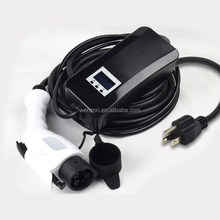 EV car charger portable charger J1772 16A/32A connector suitable home