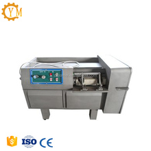 2018 Hot selling automatic frozen chicken meat cubes cutting machine