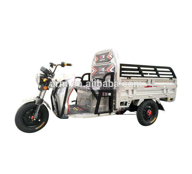 CCC Certificated Three Wheel Electric Moped Cargo Tricycle