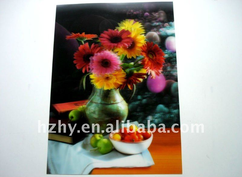 3D Flower Picture