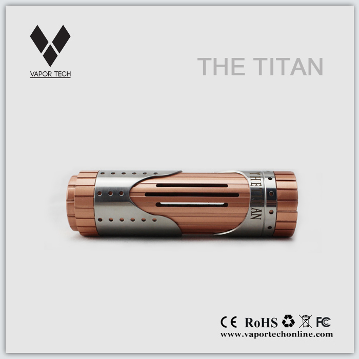 Very powerful 3mm thick Titan mod authentic at facotry price mutant 26650 mod