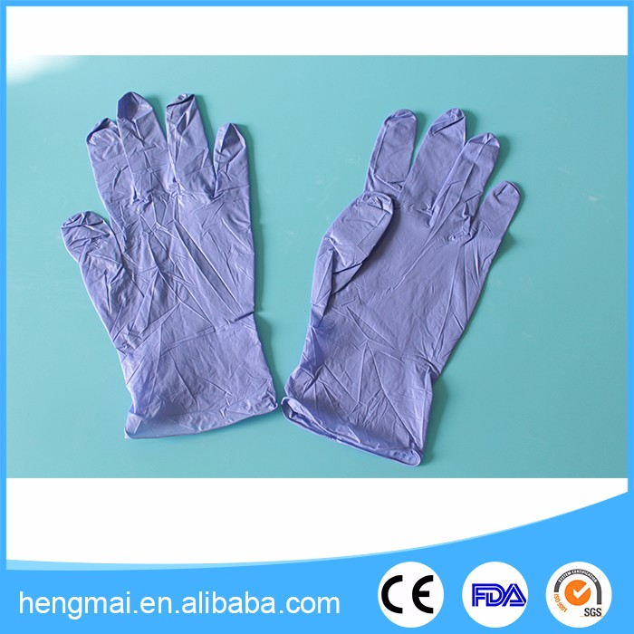 Manufacturer Wholesale Working Gloves Nitril For Dental