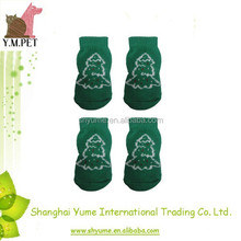 Knitting Dog Socks with Customized Printing Pattern