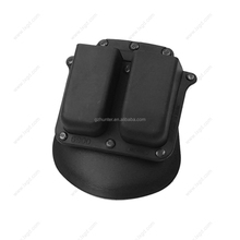 Tactical Combo Pistol Hand Gun Holster Case Double Magazine Mag Pouch For Airsoft