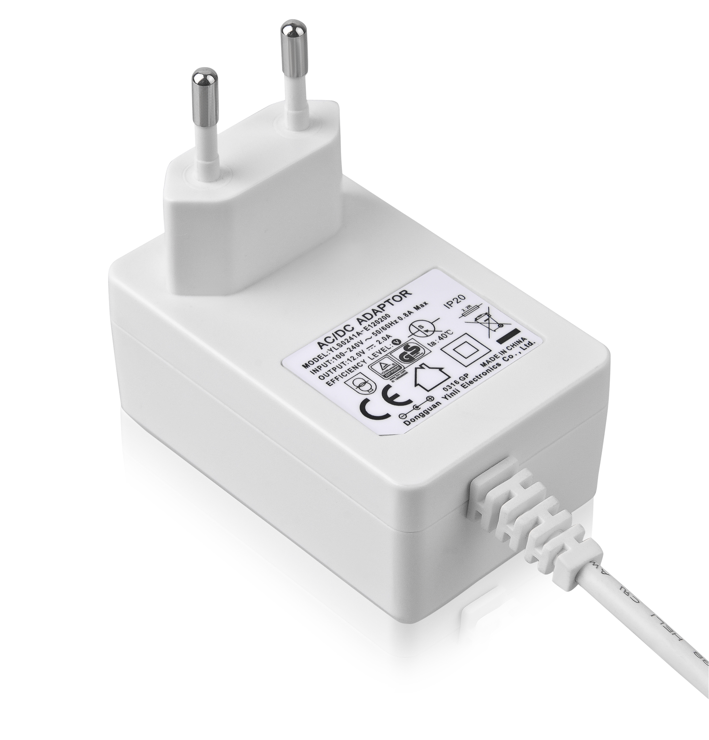 220V 50hZ 5V 12V 15V 20V 1A 2A 3A 4A 5A EU USB power adapter European type C power supply CE certificate power adapter