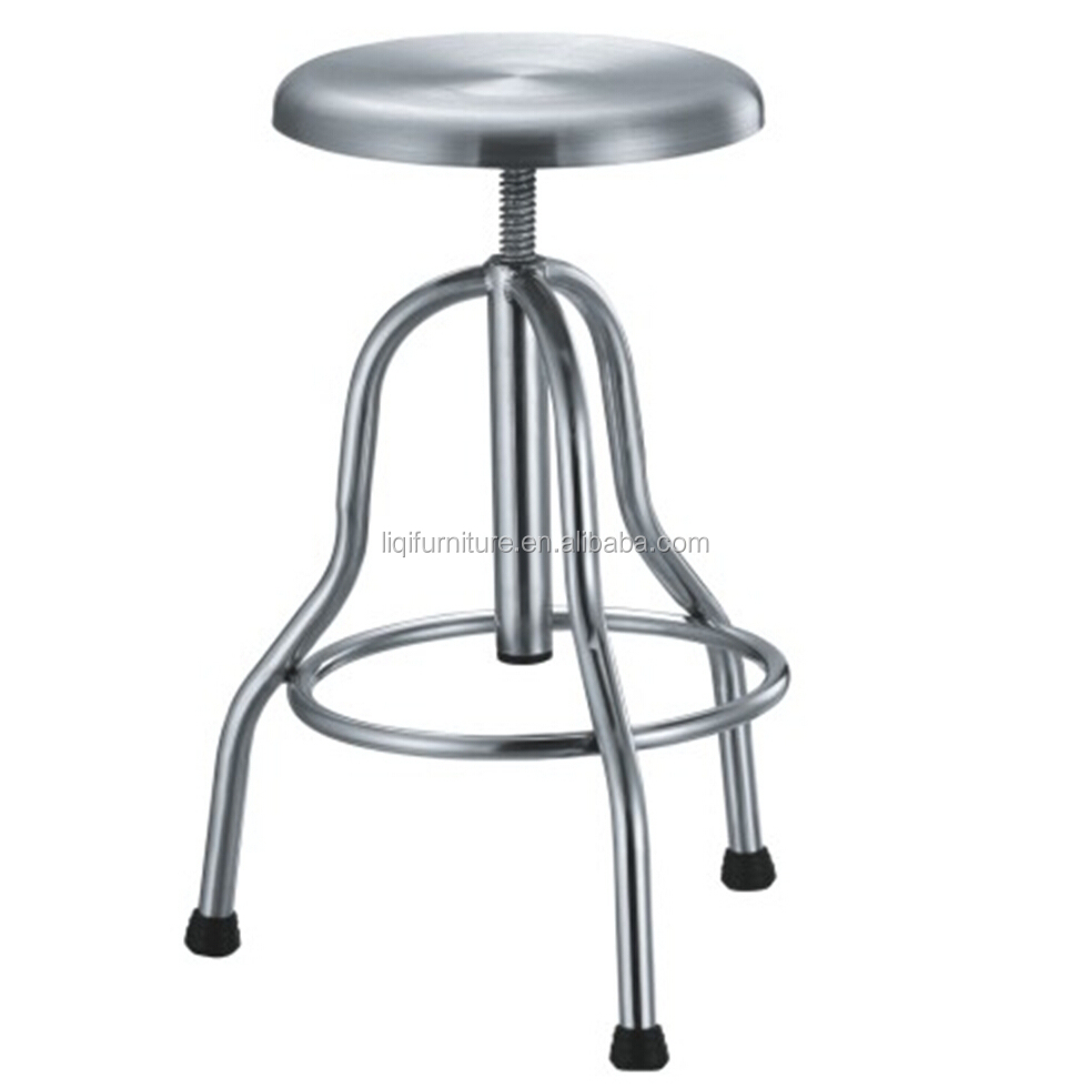 Laboratory Stool Made In Stainless Steel Buy Metal Lab