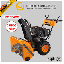 9HP Two Stage Snow Thrower KC1334GS Loncin Engine