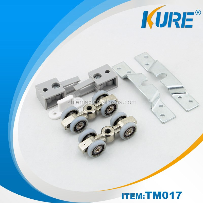 2016 new design Heavy Duty Sliding Hanger Door Rollers Soft Close Door Slides