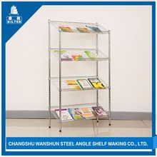 professional chrome plated wire shelves with iron holder