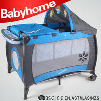 European standard baby play yard large dog baby playpen travel cot