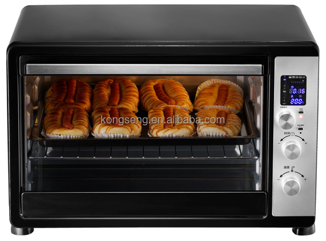 China Best Selling LED display 45L electric toaster pizza grill oven