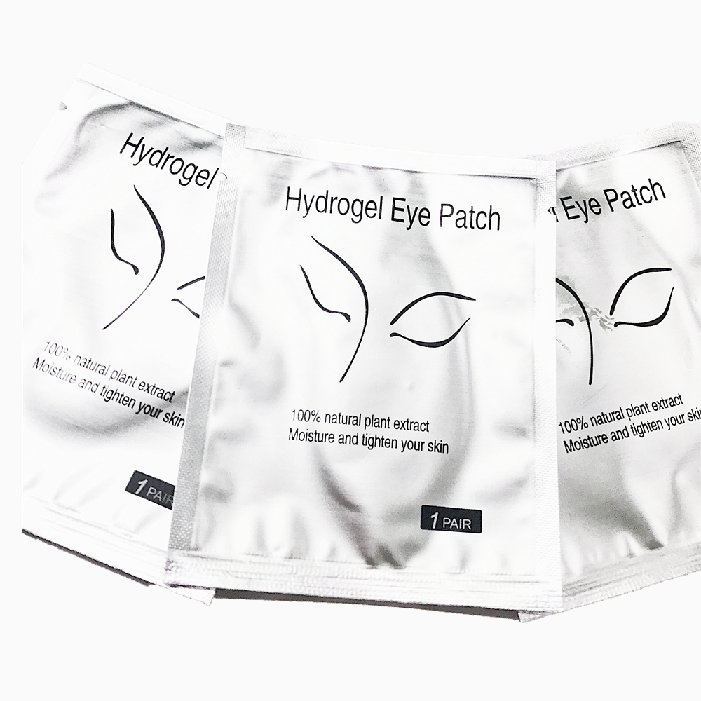 hydrogel <strong>eye</strong> patch disposable lint free <strong>eye</strong> gel eyepatch for eyelash extension tool