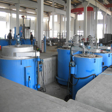 Pit type electric nitriding furnace applied for automobile crankshaft
