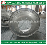 heavy truck steel wheel rims 8.5-24