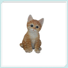 Wholesale small tabby cat animal figurine for window decoration