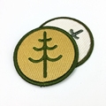High Quality Custom Iron/iron-on Patches Embroidery Logo Design Embroidery Patches