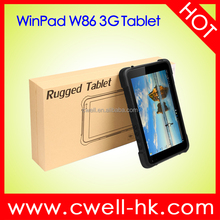 8 Inch Screen 32GB EMMC IP67 Waterproof 3G Window 10 Tablet Android Rugged Tablet PC
