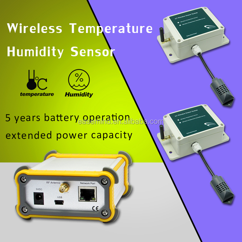Wireless TEMP humidity agriculture water measurement probe sensors