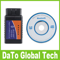 Free Shipping ELM327 Interface OBD2 USB Bluetooth V2.1 Auto Car Diagnostic Scanner