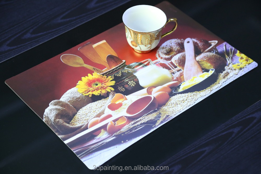 Disposable PP Table Kids Topper / Plastic Placemat for Baby / Recycled Plastic Table Mat