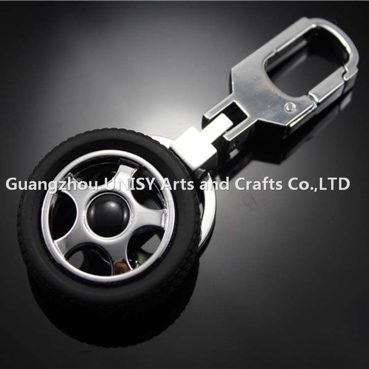 Cheap price Promotional Fashion Creative Genuine metal tire BMW Key Chain/Key Holder For TOYOTA NISSAN